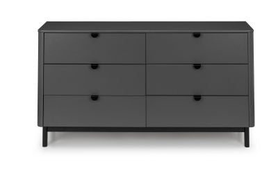 Grace Storm Grey 6-Drawer Chest