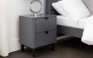 Grace Storm Grey Bedside