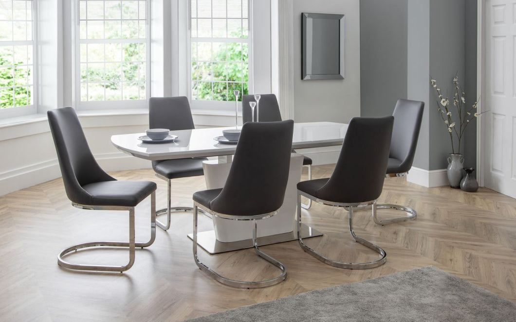 Como Dining Set with 4/6 Como Chairs
