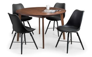 Farringdon Dining Set with 4 Kari Chairs