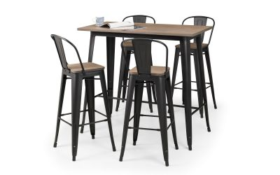 Grafton Dining Set with 4 Stools