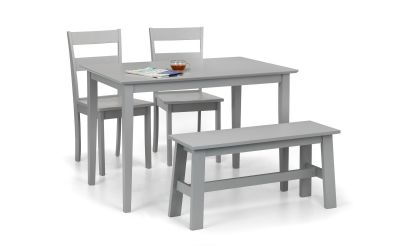 Kobe Dining Set including Bench and 2 Chairs