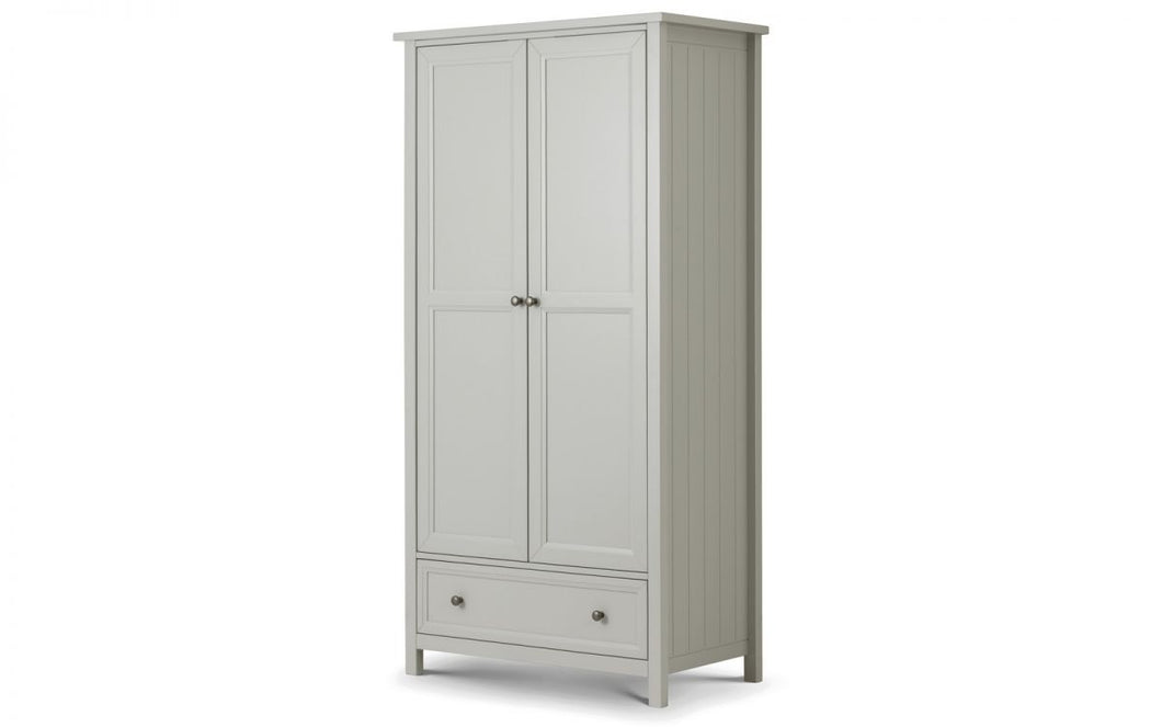 Hampshire Grey 2-Door Wardrobe