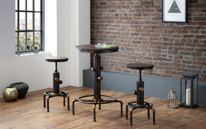 Rockport Bar Set with 2 Stools