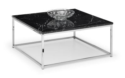 Scala Square Coffee Table - Black