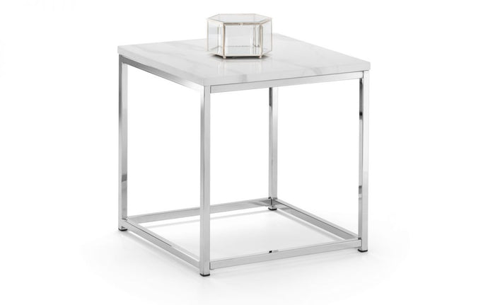 Scala White Side Table