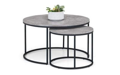 Staten Round Nesting Coffee Tables