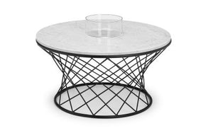 Trevi Round Marble Coffee Table