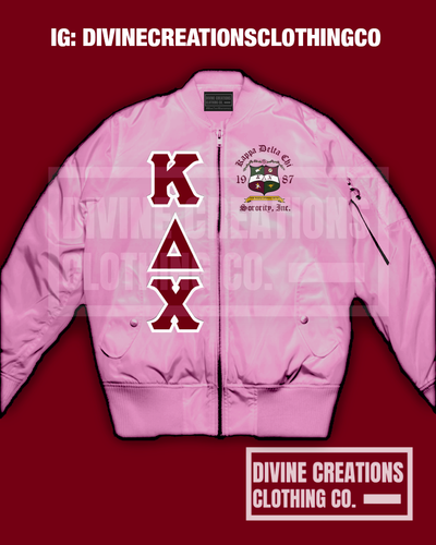 KDChi Satin Bomber Jacket + - DVN Co.