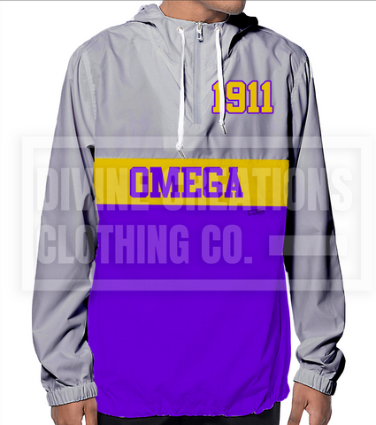 Omega Windbreaker - DVN Co.