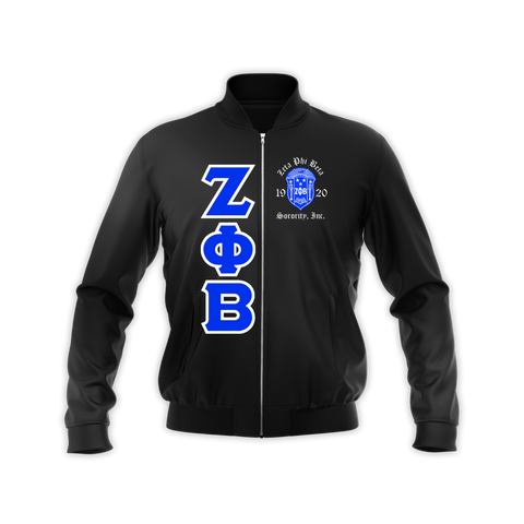 Zeta Satin Bomber Jacket + - DVN Co.