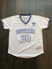 Zeta College Baseball Mesh V-Neck Jersey - DVN Co.