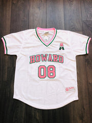 AKA College Baseball Mesh V-Neck Jersey - DVN Co.