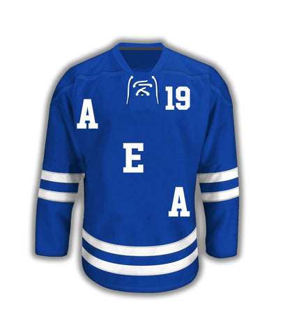 Kappa Kappa Psi Sublimated Hockey Jersey - DVN Co.