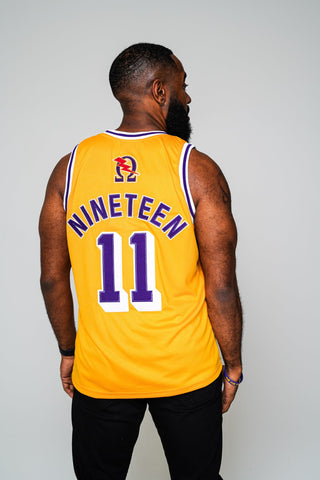 "Omega ""Ques"" Basketball Jersey - LA Retro Edition - DVN Co."