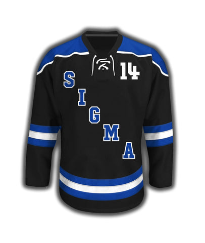 Phi Beta Sigma Sublimated Hockey Jersey - DVN Co.