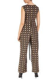 Golden Dot Sleeveless Jumpsuit