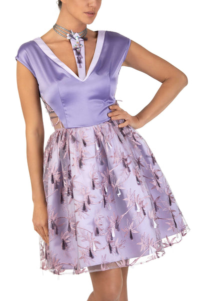 Honesty Princess Silhouette Mini Dress