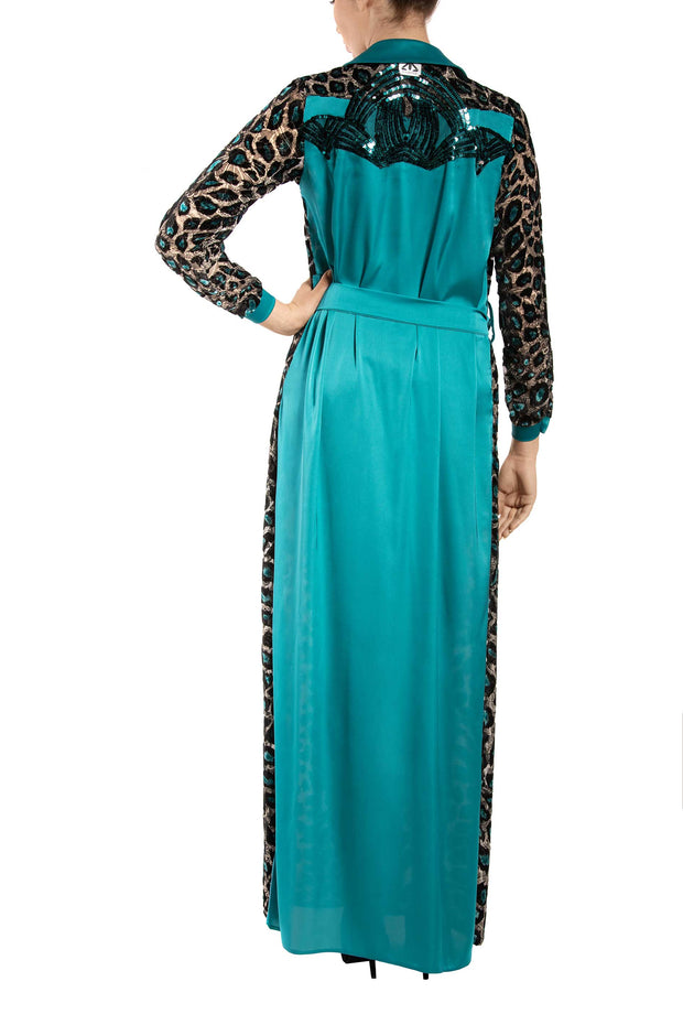 Jade Maxi Shirt Dress