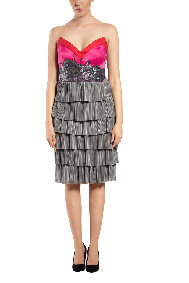 Peony Sleeveless Cocktail Dress