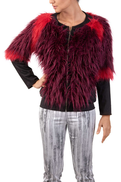 Red Softy - Faux Fur Jacket