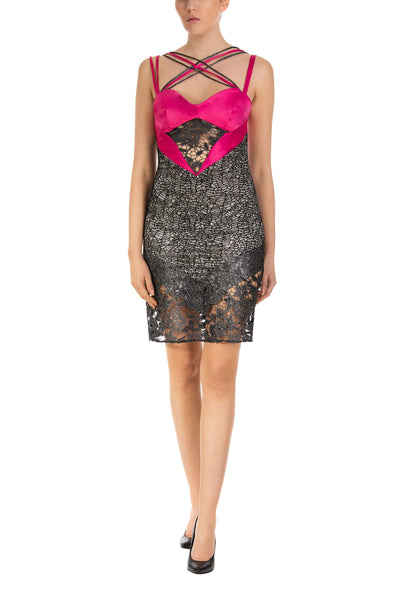 Valentine Bodycon Mini Dress