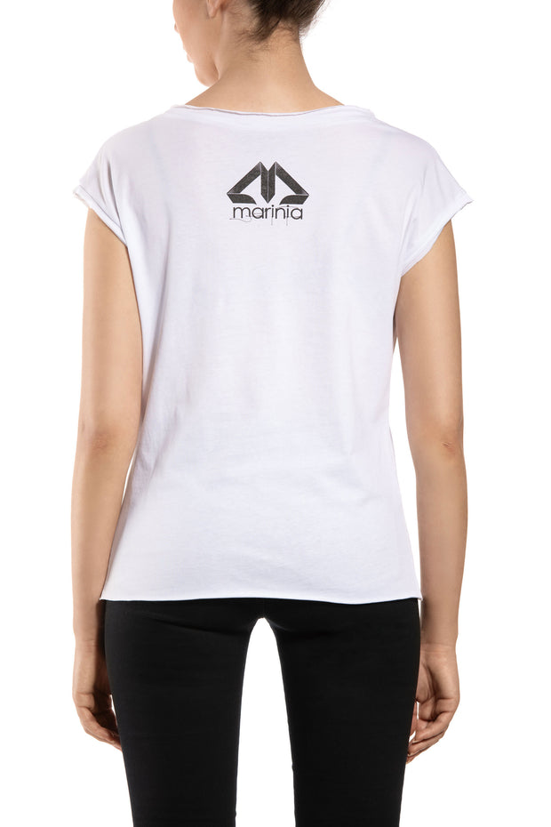 Wanna Be White Short Sleeve Tee