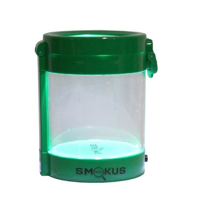 Smokus Focus Middleman Jar Green Display Jar