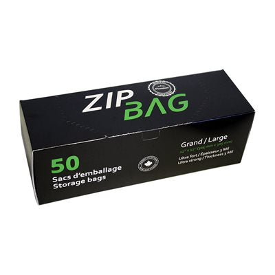 ZIP BAG BAGS PREMIUM LARGES DOUBLE ZIP 30CM X 30CM (100)