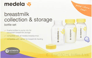 Medela Breastmilk Collection & Storage Bottle Set - Bargain Concept
