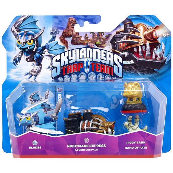 Skylanders Trap Team: Nightmare Express Level Pack - Bargain Concept