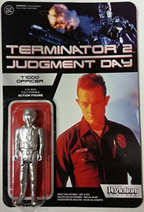 Terminator 2 T-1000 Officer Action Figure Funko Reaction Liquid Metal - Bargain Concept
