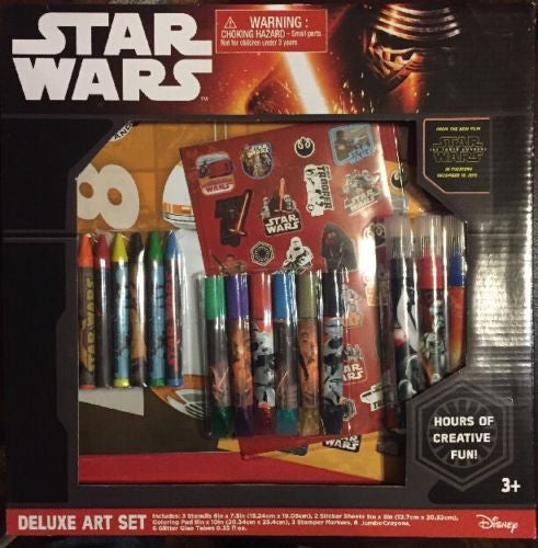 Star Wars Deluxe Art Set - Bargain Concept