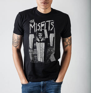 Misfits Coffins Dealey Plaza T-Shirt - Bargain Concept
