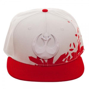 Resist Icon Metal Embroidery Acrylic Wool Snapback - Bargain Concept