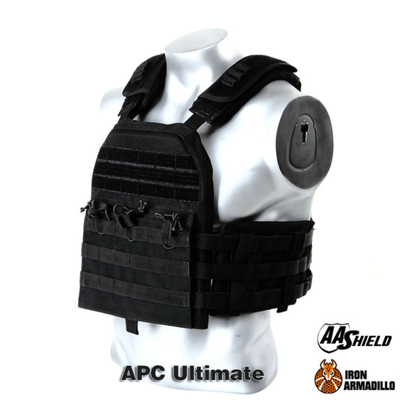 APC Armadillo Plate Carrier Ballistic Tactical Molle Gear Body Armor 10X12 Bullet Proof Vest IIIA Soft Armor Ultimate Plus Kit - Bargain Concept