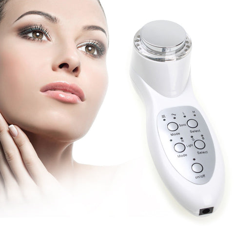Portable Ultrasonic 7 Mode Photon Beauty Massager - Bargain Concept