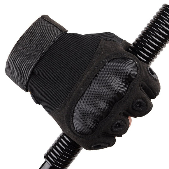 Tactical Fingerless Gloves Anti-Skid Carbon Knuckle - Bargain Concept