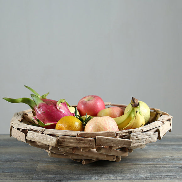 Wooden fruit tray - Bargain Concept