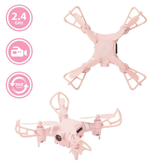 YD A15 Mini RC Quadcopter 2.4G 360 Degrees 4 Ways Flips and 0.3MP WIFI HD Camera - Bargain Concept