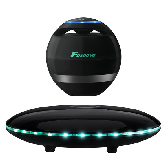 FOXNOVO Levitating Bluetooth Speaker Portable Wireless LED - Bargain Concept