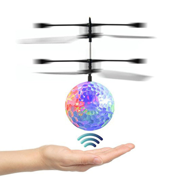 RC Flying Ball Drone Helicopter Ball Built-in Shinning LED Lighting - Bargain Concept