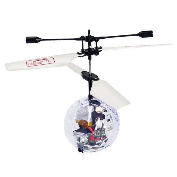 RC Flying Ball RC Drone Helicopter Ball Built-in Disco Music With Shinning LED - Bargain Concept