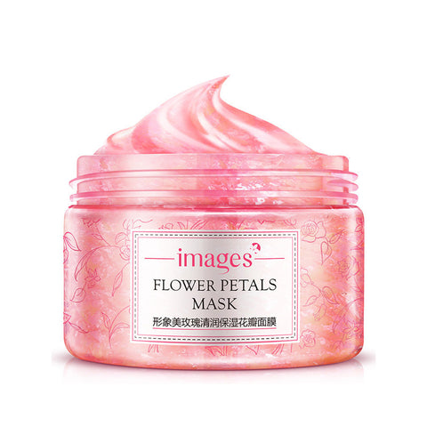 Rose Flower Petals Facial Mask Moisturizing Whitening Skin Care - Bargain Concept