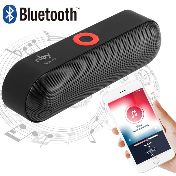 New Arrival Wireless Bluetooth Speaker with Microphone Rechargeable Support Hands-free Call 3.5mm Audio for Office Restaurant - Bargain Concept