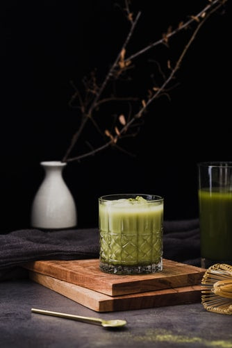 matcha for alcoholism