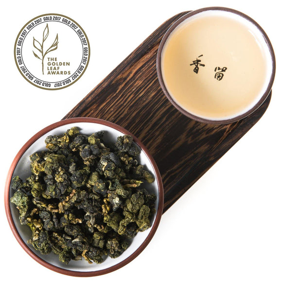 Award Winning Ali Shan Milk Oolong Tea (Taiwan)