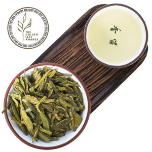 "Award Winning ""Dragon Well"" Long Jing Green Tea"