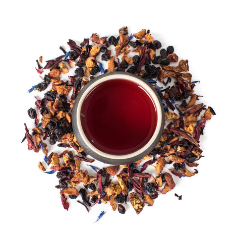 Blueberry World Herbal Tea