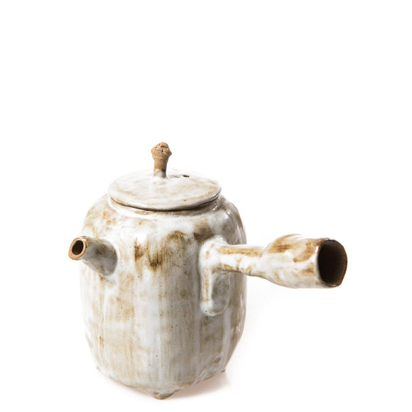 Handmade Ceramic Sinde-Handle Teapot